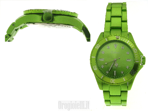 Orologi COLORI verde - Aluminium Collection Bright Green 40 MM