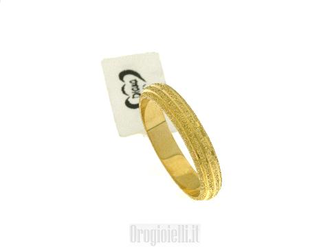 Anelli da fidanzamento placcato oro