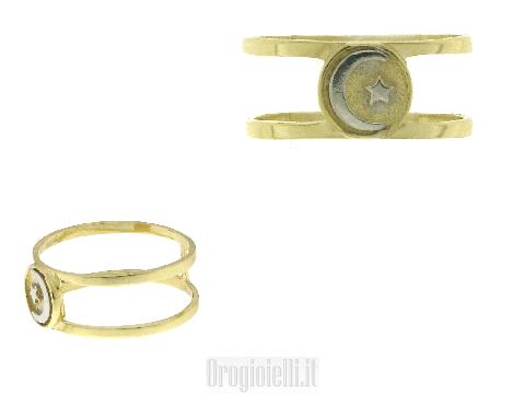 Gioielli con Simboli Anelli per donna islamica in oro