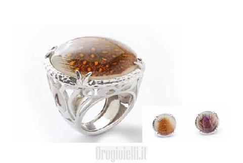 Anelli Artigianali Bigiotteria: Anello collezioni Piume