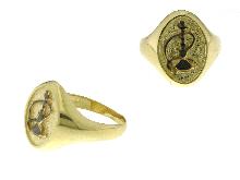 Anello con SIMBOLO Personalizzabile (Anelli con stemma EGIZIANO)