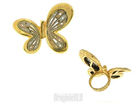 Gioielli d'Arte: Anello farfalla graziella