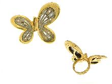 Joyas de oro: butterfly graziella ring