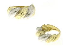 Anello fascia oro diamantato