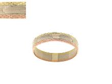 Anello fedina da fidanzamento in oro