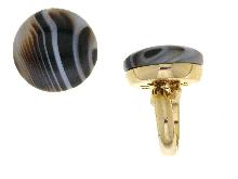 Anello in argento dorato 925