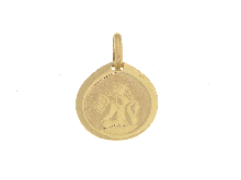 Angioletto in oro giallo 18KT