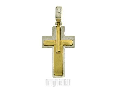 Bellissima croce moderna in lavorazione piena