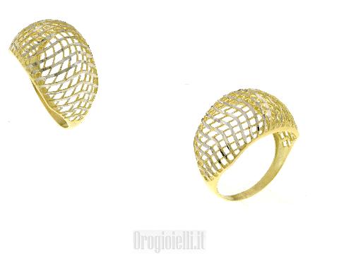 Bellissima fascia in oro diamantato 18ct per la tua baby