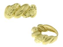 Bellissima fascia in oro giallo diamantato