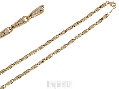 Bellissime collane in oro diamantato  FRATELLI BOVO Vicenza oro