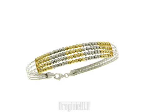 Bellissimi bracciali rigidi in argento 925