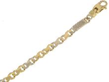 Gold Jewells: Beautiful classic 18ct gold bracelet