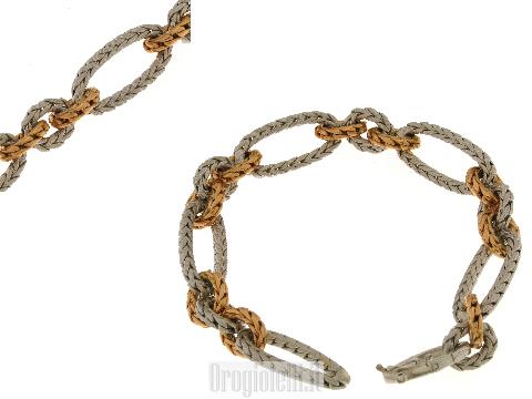 Bracciale Marotto in oro bianco 18 kt