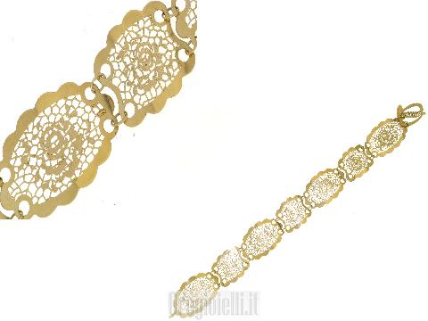 Gioielli Iconici sempre nuovi Bracciale NEONERO in oro 18 kt