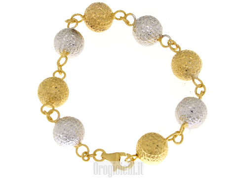 Bracciale argento gioielli Mirror Ball