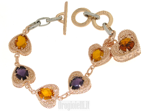 Bracciale bigiotteria on line in bronzo