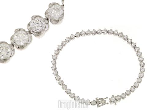 Bracciale con diamanti prezzi unici