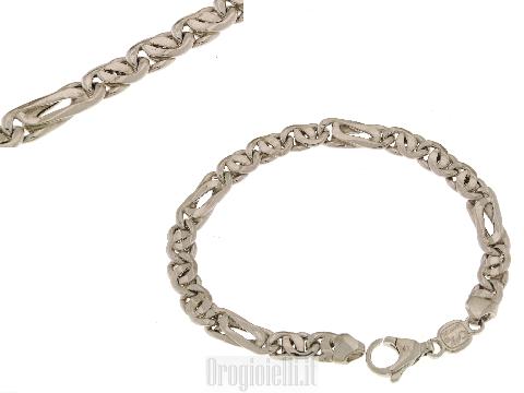 Bracciale in argento modello classico