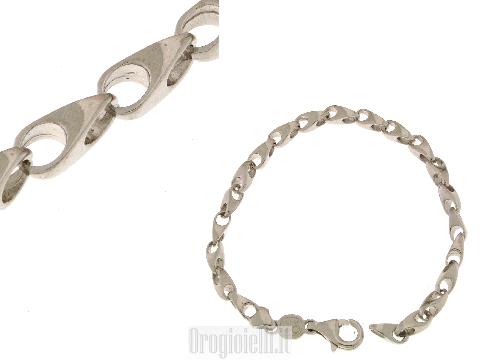 Bracciale in argento particolare per comunioni
