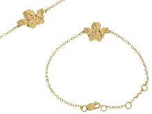 Bracciale in oro giallo 750 per bimbi