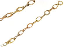 Gold Jewells: Bracelet  for charms in gold 18 kt