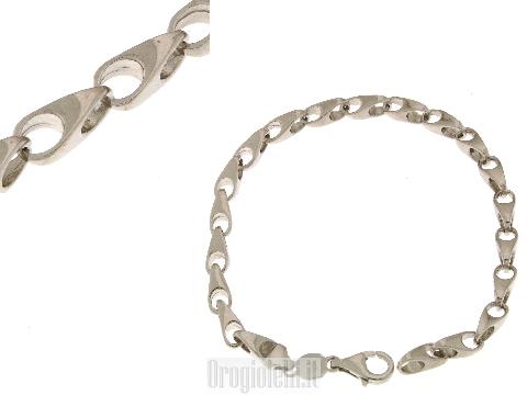 Bracciale speciale in argento bianco 925