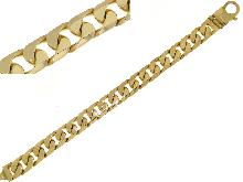 Gold Jewells: Man bracelet yellow gold 18 kt