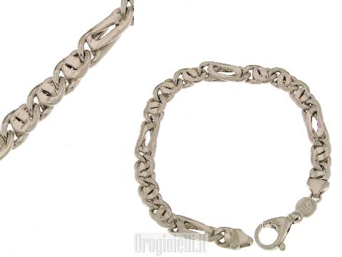 Bracciale vuoto grande in argento 925