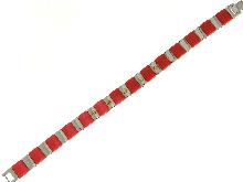 Oro-Gioielli Uomo-Braccialetto in acciaio e caucciu