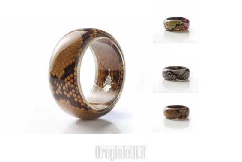 Gioielli Bijoux Artigianali Bracciali Pitoni Rigidi collection