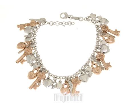 Bracciali in argento con ciondoli (charms) prezzi bassi