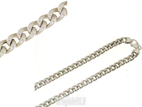 Catena classica in argento 925