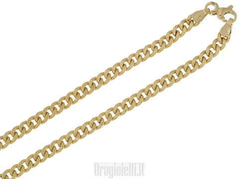 Catena grumetta classica in oro 18kt