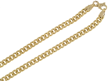 Gold Jewells: Chain 18kt classic curb