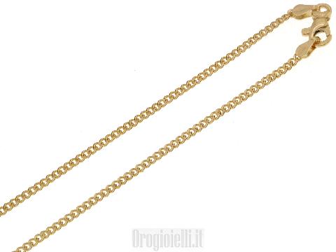 Catenina classica per ciondoli in oro