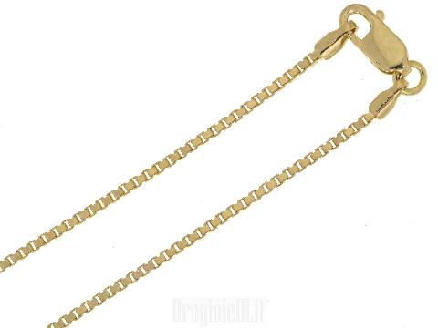 Catenina maglia veneta spessore 1,10 mm