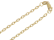 Gold Jewells: Chain for pendants yellow gold