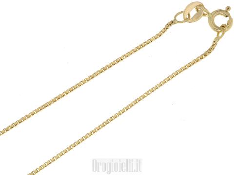 Catenina veneta oro giallo 18 ct