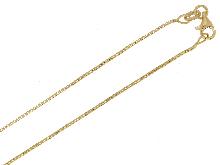 Joyas de oro: Venetian pulido de la cadena para colgantes