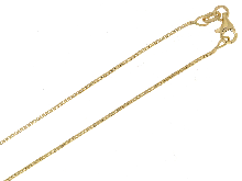 Gold Jewells: Venetian polished chain for pendants