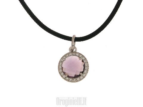 Ciondoli in argento 925 con pietre colorate