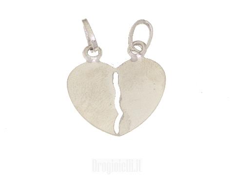 Valentine's Day gold pendant