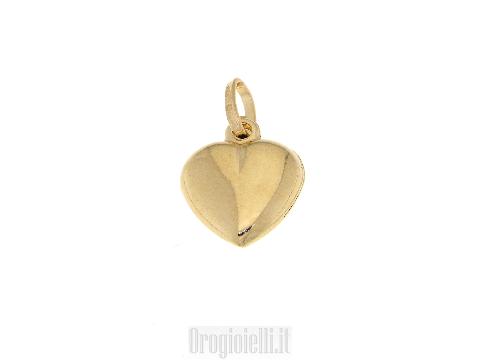 Gioielli GOLD ART Ciondolo a cuore in oro 18 kt