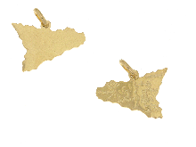 Gold Jewells: Pendant gold in Sicily