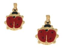 Gold Jewells: Lucky ladybugs yellow gold 18kt