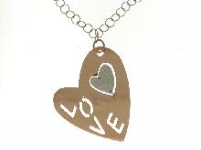 Gioielli love: Collana  LOVE  per San Valentino