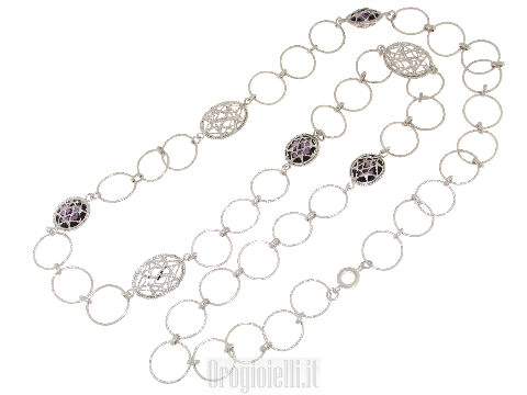 Collana chanel in argento 925