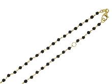Collana con onice in oro giallo