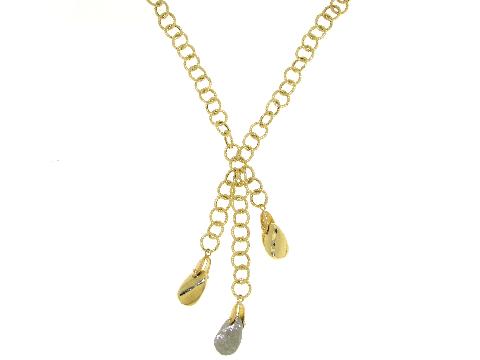 Girocollo lusso donna - Collana oro con pepite